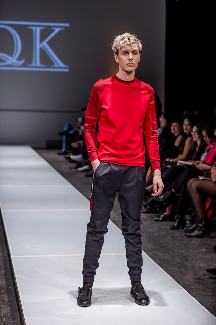 Photo of outfit from KQK fall-winter 2018 collection and runway show at Fashion Preview #7