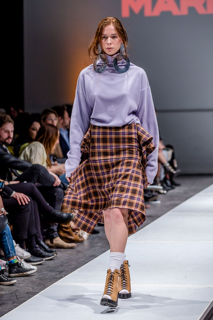 Photo of outfit from Markantoine Fall-Winter 2018 collection and runway show at Fashion Preview #7