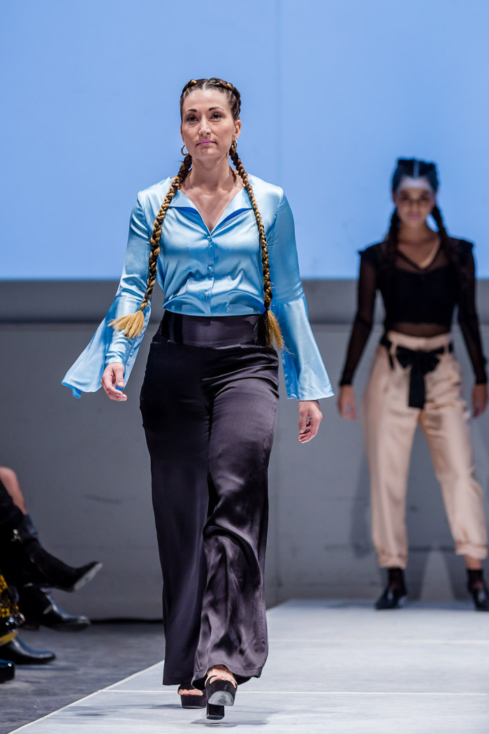 Photo of outfit from Coquette en Soie Fall-Winter 2018 collection and runway show at Fashion Preview #7