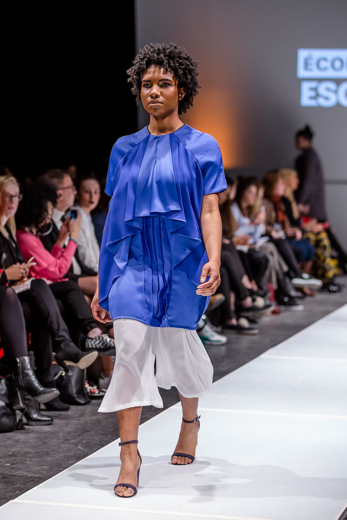 Photo of outfit from Ecole Supérieure de Mode ESG-UQAM collection and runway show at Fashion Preview #7