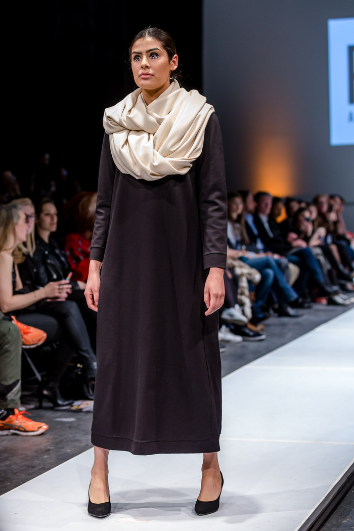Photo of outfit from Robert Atelier Fall-Winter 2018 collection and runway show at Fashion Preview #7
