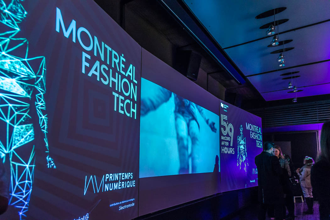 Montreal Fashion Tech - Printemps Numérique & 5 à 9 McCord