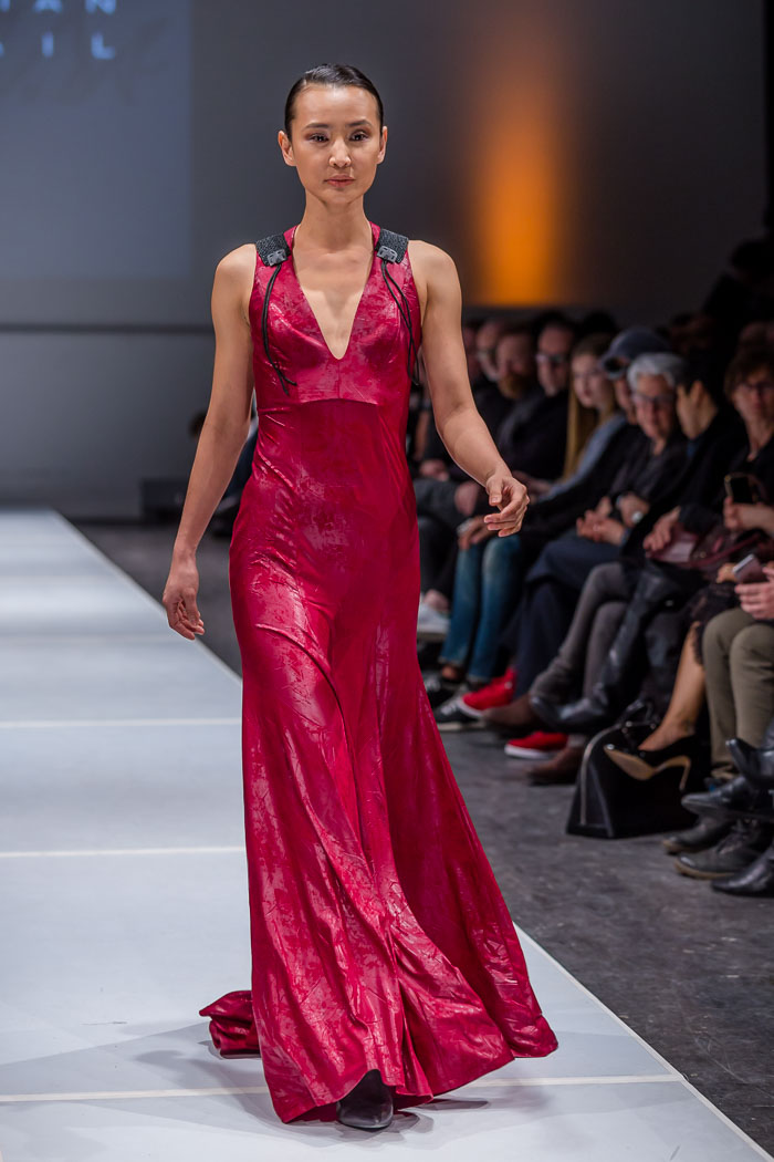Image of outfit from MUSE par Christian Chenail fall-winter 2018 collection and runway show at Fashion Preview #7