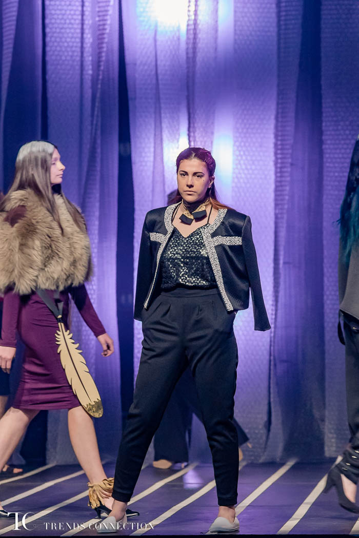 Cegep Marie-Victorin Collectif Creatif 2017 Runway Show - TrendsConnection
